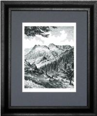 Wainwright Print - Great Gable